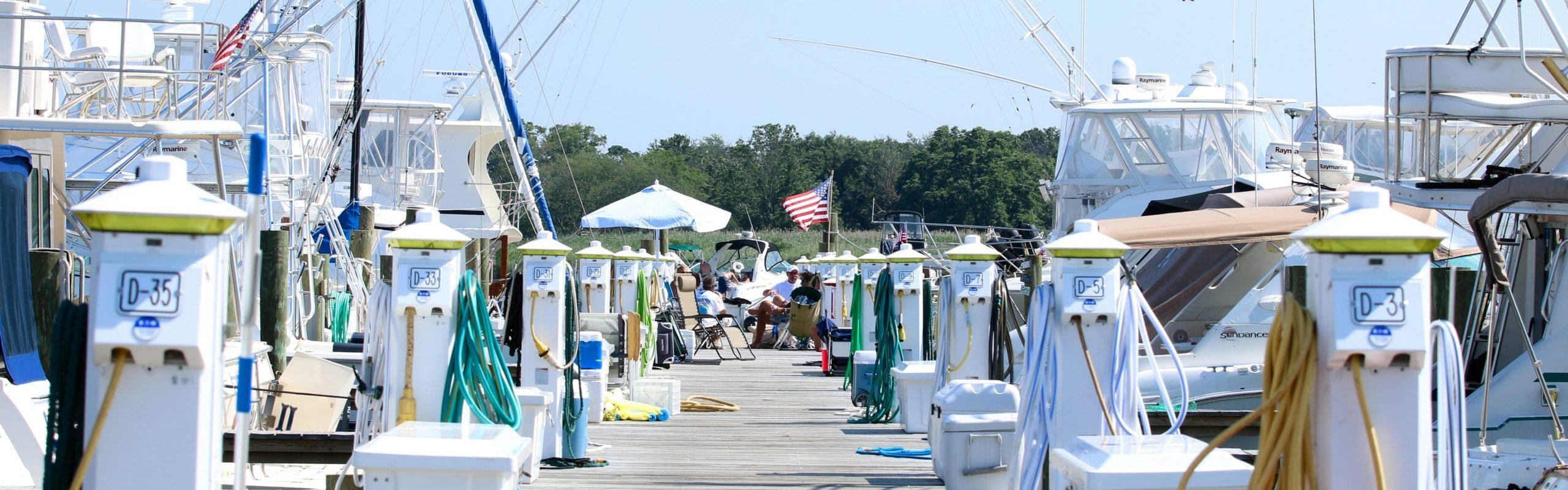 oakdale yacht dock